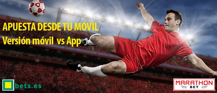 app mbet VS version movil