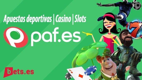 análisis de paf, apuestas, casino, slots