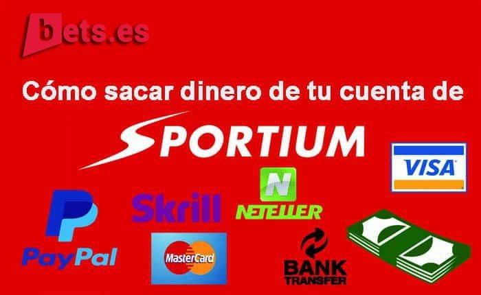 retirar dinero en Sportium