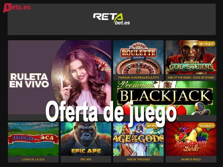 análisis RETAbet Casino