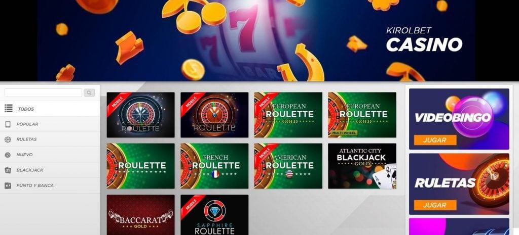jugar a casino kirolbet
