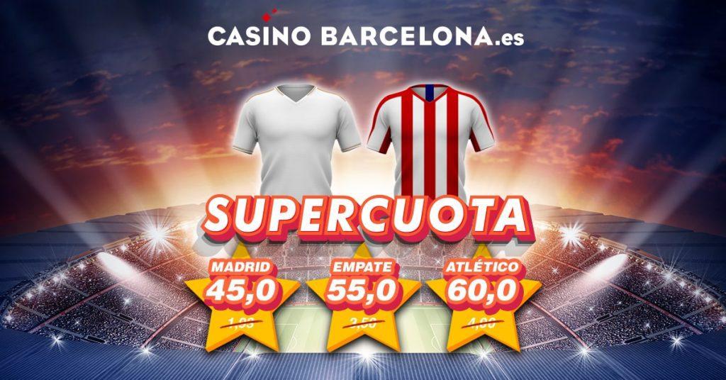 supercuota real madrid atlético casino barcelona