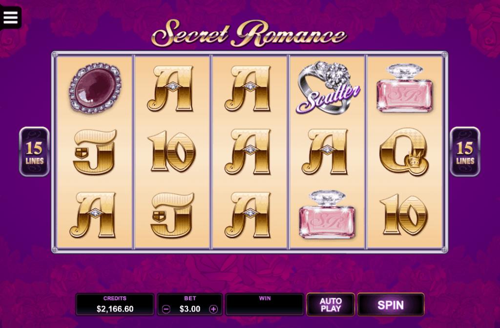 secret romance tragaperras
