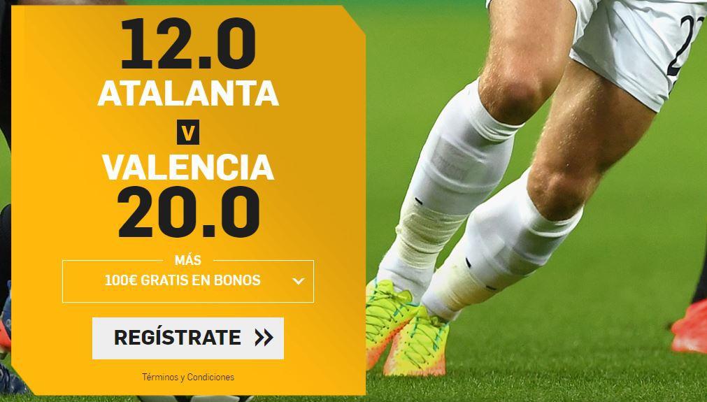 atalanta valencia supercuotas champions betfair