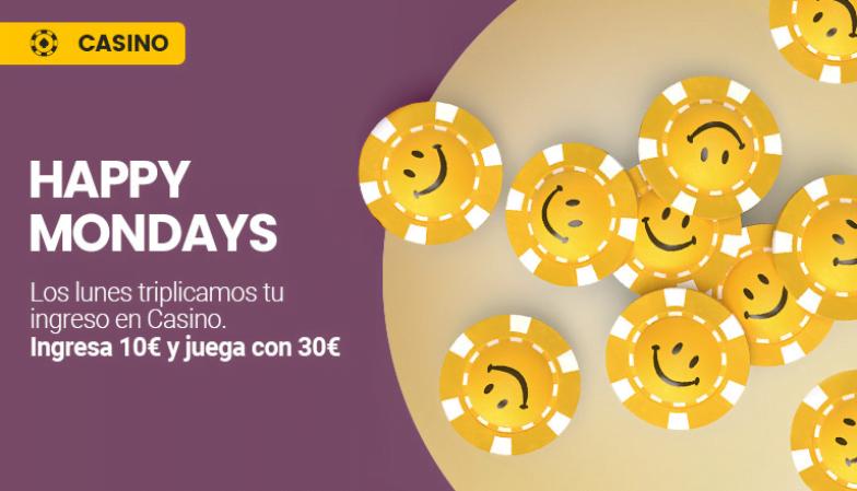 happy mondays promoción