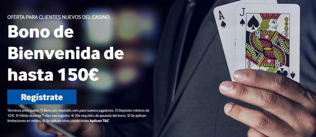 nuevo bono betway casino