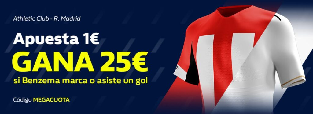 megacuota william hill athletic madrid