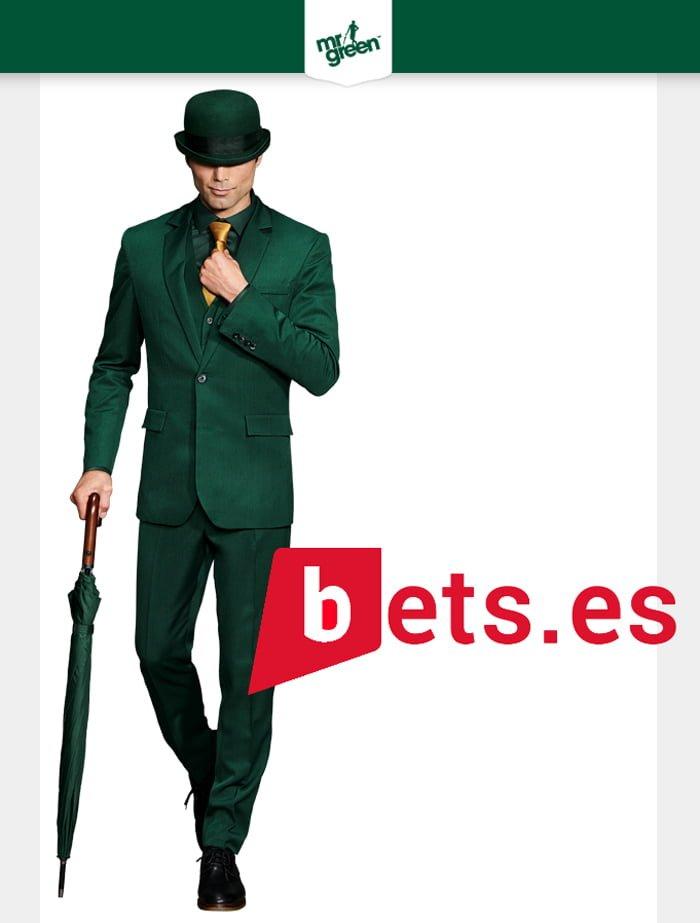 Bono de Bienvenida Mr Green hasta 100€ + 100 Giros Gratis
