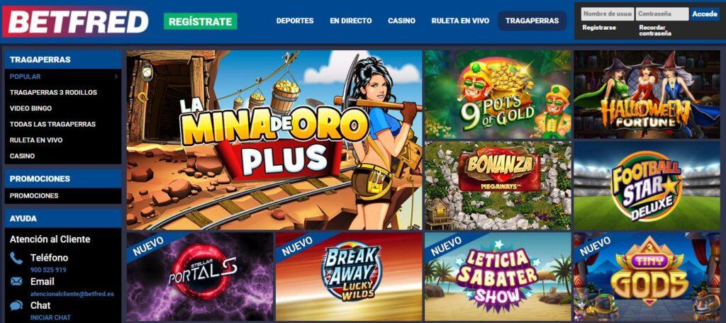 jugar slots betfred
