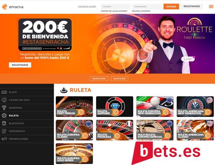 Análisis del Casino enracha, especialistas en ruleta