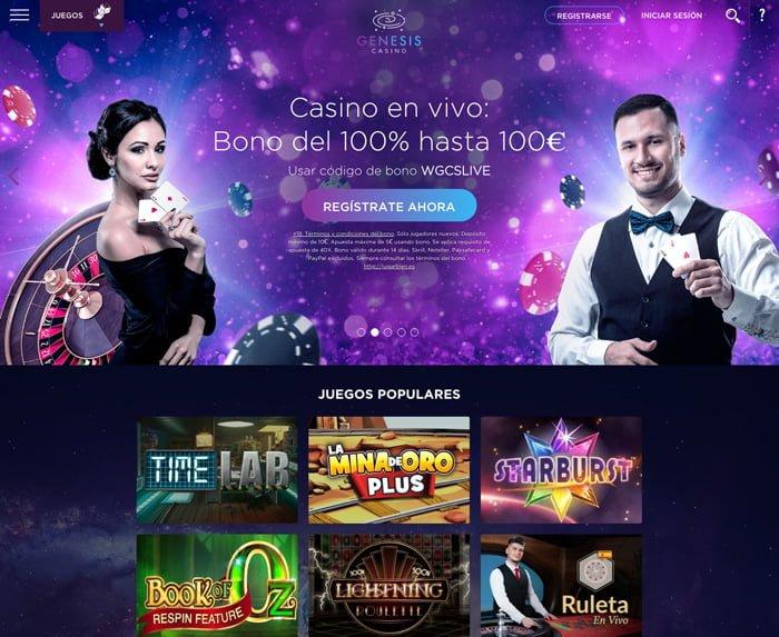 Review Casino en Vivo de Genesis Casino