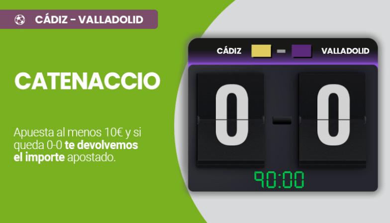 Cádiz - Valladolid