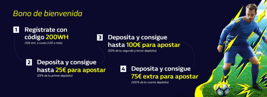bono williamhill apuestas